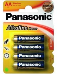 Panasonic AA Alkaline Power LR6 (4)