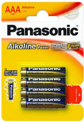 Panasonic AAA Alkaline Power LR03 (4) LR03APB/4BP