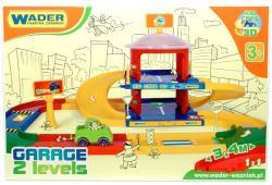 Wader Kid Cars 3D kétszintes parkolóház