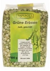 RAPUNZEL Bio felezett zöldborsó (500g)