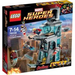 LEGO Marvel Super Heroes - Támadás a Bosszúállók tornyán (76038)