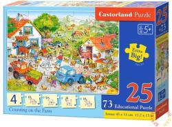 Castorland Számolás a farmon 25 és 73 db-os