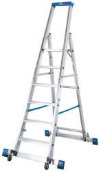 KRAUSE Stabilo gurítható lépcsőfokos állólétra kitámasztóval 6 fokos, profi (127303)