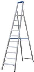 KRAUSE Stabilo Lépcsőfokos állólétra 10 fokos, profi (124562)