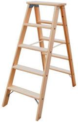KRAUSE Stabilo lépcsőfokos falétra 2x5 fokos, profi (818225)