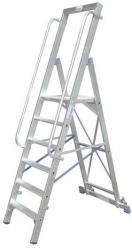 KRAUSE Stabilo lépcsőfokos állólétra nagy dobogóval 6 fokos, profi (127761)