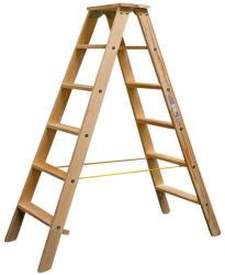 KRAUSE Stabilo lépcsőfokos falétra 2x6 fokos, profi (818232)