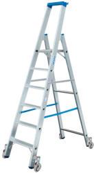KRAUSE Stabilo gurítható lépcsőfokos állólétra 6 fokos, profi (124630)