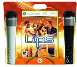 Microsoft Lips [Microphone Bundle] (Xbox 360)