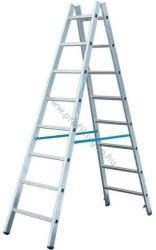 KRAUSE Stabilo két oldalon járható biztonsági létra 2x14 fokos, profi (124951)