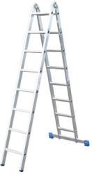 KRAUSE Stabilo csuklós állólétra 2x8 fokos, profi (123541)