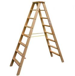 KRAUSE Stabilo lépcsőfokos falétra 2x8 fokos, profi (818256)
