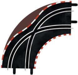Carrera Sávváltó kanyar pályaelemek 6616554
