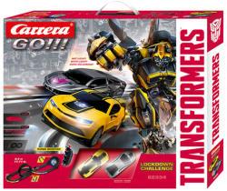 Carrera GO!!! Transformers Lockdown Challenge versenypálya