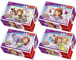 Trefl Mini Puzzle Disney Szófia Hercegnő 54 db-os (54129)