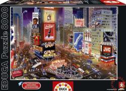 Educa Genuine Times Square, New York 8000 db-os (16325)