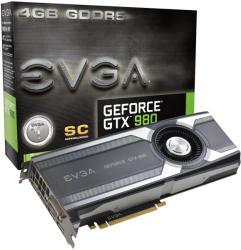 EVGA GeForce GTX 980 Superclocked 4GB GDDR5 256bit PCIe (04G-P4-1982-KR)