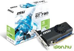 MSI GeForce GT 730 LP OC 1GB GDDR5 64bit PCIe (N730K-1GD5LP/OC)