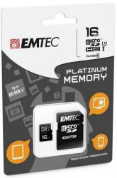 EMTEC MicroSDHC Mini Jumbo 16GB UHS-I ECMSDM16GHC10PL
