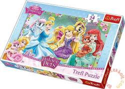Trefl Disney Hercegnők: A palota kedvencei 24 db-os (14223)