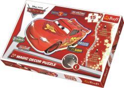 Trefl Magic Decor - Disney Verdák 15 db-os foszforeszkáló puzzle (14609)