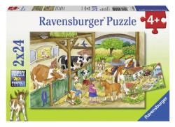 Ravensburger Tanyasi élet 2 x 24 db-os