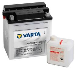 VARTA Powersports Freshpack 12V 11Ah jobb 12N10-3A/12N10-3A-1/12N10-3A-2/YB10L-A2 511012009