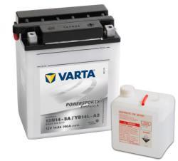 VARTA Powersports Freshpack 12V 14Ah jobb 12N14-3A/YB14L-A2 514011014