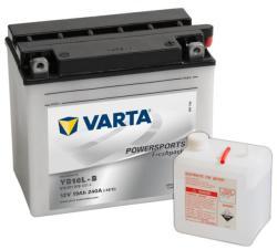 VARTA Powersports Freshpack 12V 19Ah jobb YB16L-B 519011019