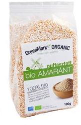 GreenMark Organic Puffasztott bio amaránt (100g)