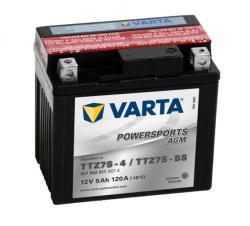 VARTA Powersports AGM 12V 5Ah jobb+ YTZ7S-4/YTZ7S-BS 507902011