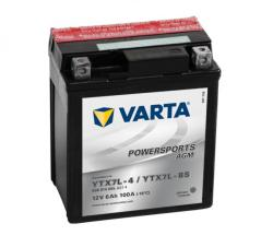 VARTA Powersports AGM 12V 6Ah jobb YTX7L-4/YTX7L-BS 506014005