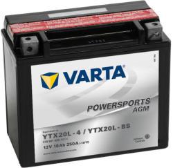 VARTA Powersports AGM 12V 18Ah jobb YTX20L-4/YTX20L-BS