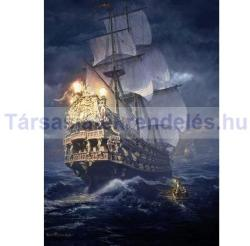 Schmidt Spiele Sarel Theron: Hajó a viharos tengeren 1000 db-os