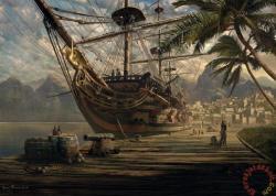 Schmidt Spiele Horgonyzó hajó 1000 db-os (58183)