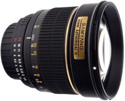 Samyang 85mm f/1.4 (Canon)