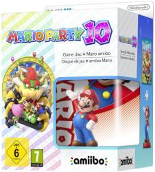 Nintendo Mario Party 10 [Mario Amiibo Bundle] (Wii U)