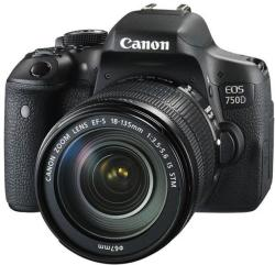 Canon EOS 750D + 18-135mm IS STM (0592C032AA)