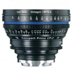 ZEISS Carl Zeiss CP. 2 3.6/18 T* (Canon)