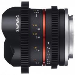 Samyang 8mm T3.1 VDSLR (Sony)