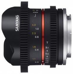 Samyang 8mm T3.1 VDSLR (Fujifilm)