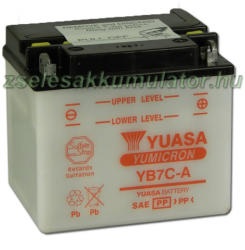 YUASA Yumicron 12V 8Ah jobb YB7-CA