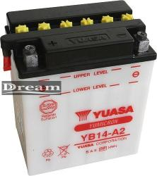 YUASA Yumicron 12V 14Ah bal YB14-A2