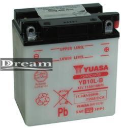 YUASA Yumicron 12V 11Ah jobb YB10L-B
