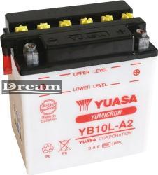 YUASA Yumicron 12V 11Ah jobb YB10L-A2