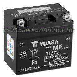 YUASA AGM 12V 6Ah jobb TTZ7S-BS