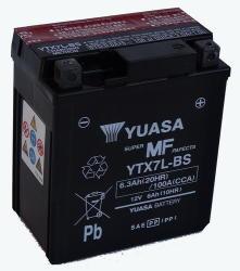 YUASA AGM 12V 6Ah 100A jobb+ YTX7L-BS