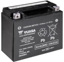 YUASA AGM 12V 18Ah jobb YTX20HL-BS