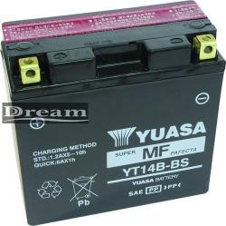YUASA AGM 12V 12Ah bal YT14B-BS