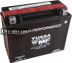 YUASA AGM 12V 21Ah jobb YTX24HL-BS